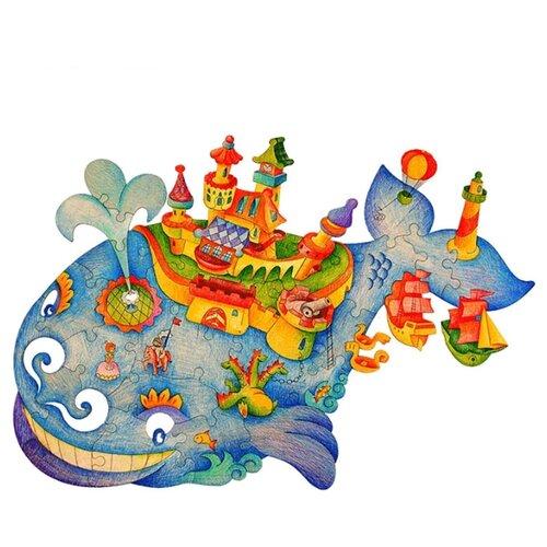 Пазл Woody Чудо-Юдо Рыба-Кит printio слюнявчик рыба кит