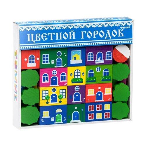 Кубики Томик Цветной городок