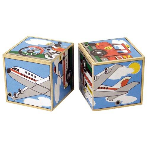 Кубики-пазлы Melissa & Doug пазлы melissa