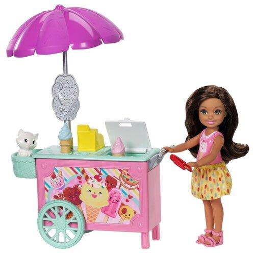 Набор Barbie Челси с тележкой