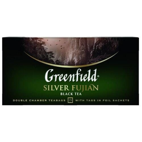 Чай черный Greenfield Silver greenfield english edition черный листовой чай 100 г