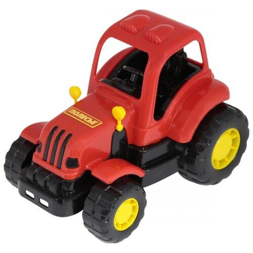 Фото - Трактор Полесье Крепыш 44778 21 полесье набор игрушек для песочницы 468 цвет в ассортименте