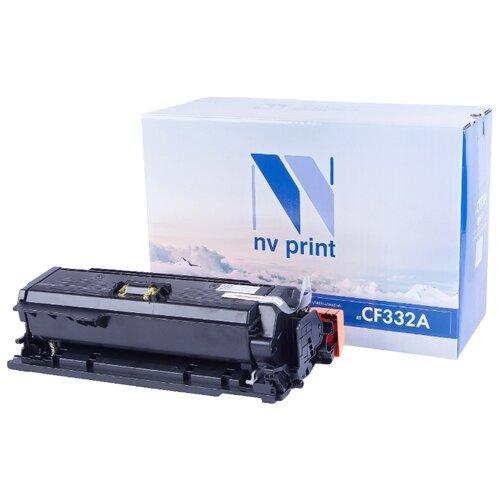 Фото - Картридж NV Print CF332A для HP картридж sakura cf332a