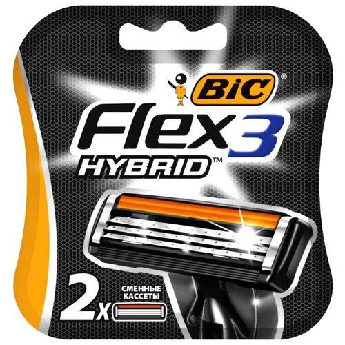 Сменные лезвия Bic Flex 3 Hybrid глюкозамин nature made triple flex msm 170