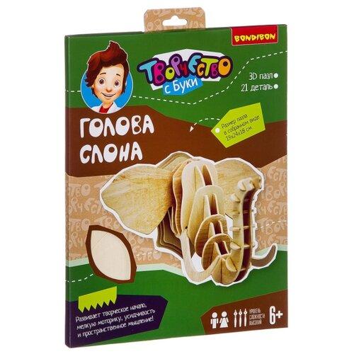 3D-пазл BONDIBON 3D Голова пазл bondibon 3d голова слона
