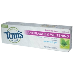 Зубная паста Toms of Maine Antiplaque & Whitening гелевая Курчавая мята