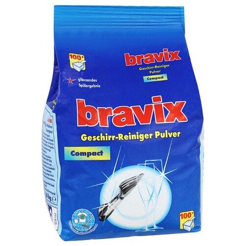 Bravix порошок для порошок моющий bravix для посудомоечных машин 2 кг