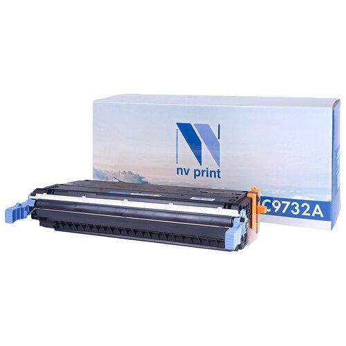 Фото - Картридж NV Print C9732A для HP картридж nv print ce278a 728 для hp p1566 p1606 canon mf4410 4430 4450 4550 4570 4580 черный 2100стр