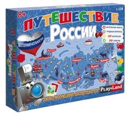 Настольная игра Play Land Путешествие по России L-128