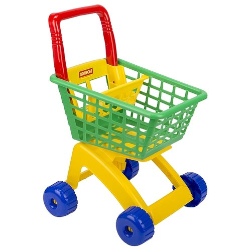Фото - Тележка для покупок Полесье 7438 полесье игрушечная тележка supermarket 1 с набором продуктов цвет в ассортименте