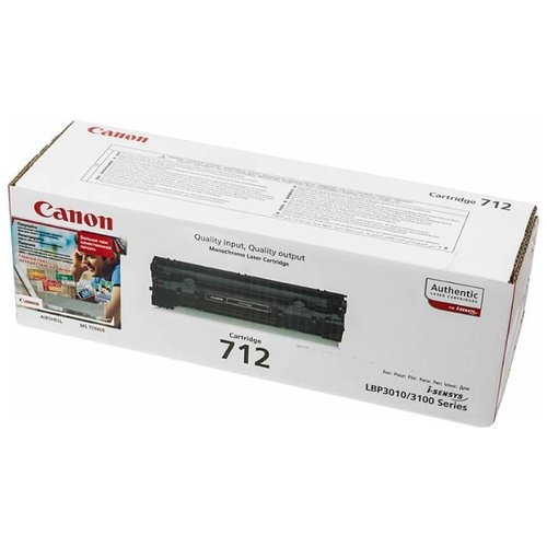 Фото - Картридж Canon 712 1870B002 картридж canon 712 1870b002 для canon lbp 3010 3020 черный