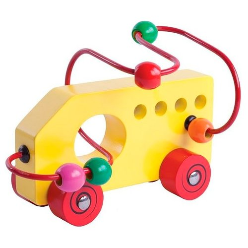 деревянные игрушки mapacha лабиринт сортер большой на колесиках Лабиринт Mapacha Машинка