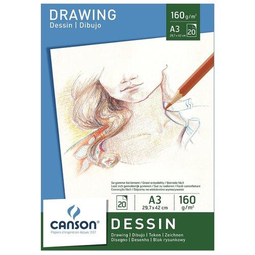 Альбом Canson Dessin 42 х альбом canson xl bristol 42 х