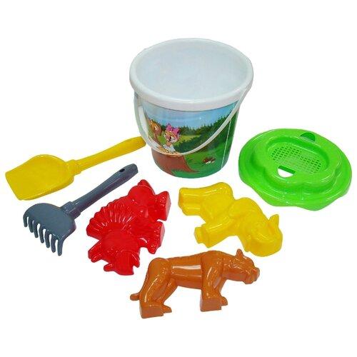 Фото - Набор Полесье №358 35820 полесье набор игрушек для песочницы 468 цвет в ассортименте