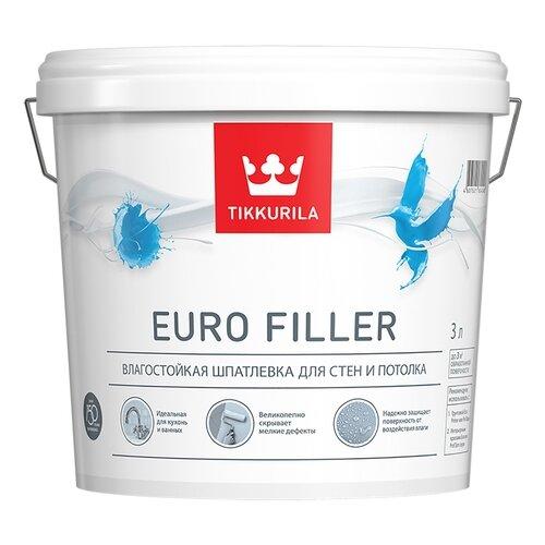 Шпатлевка Tikkurila Euro Filler фото
