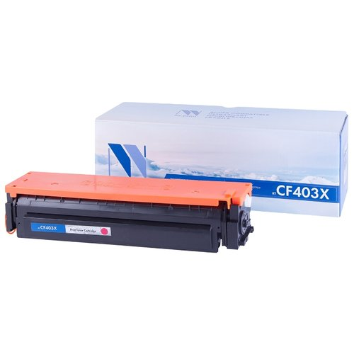 Фото - Картридж NV Print CF403X для HP картридж nv print q7562a для hp