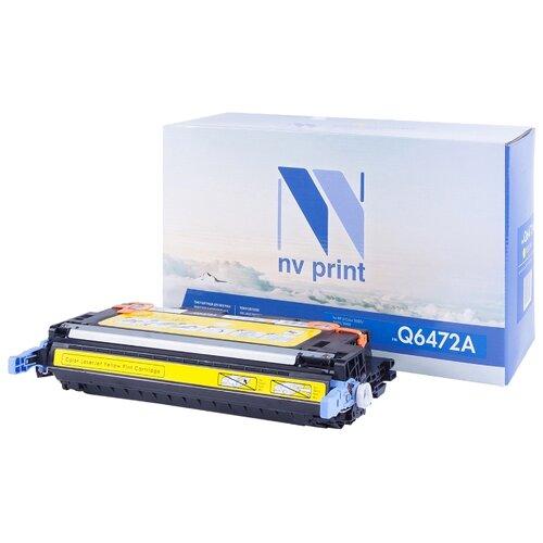 Фото - Картридж NV Print Q6472A для HP картридж nv print cf380x для hp
