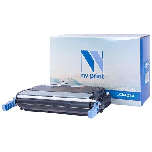 Картридж NV Print CB403A для HP картридж hp cb403a color lj4005