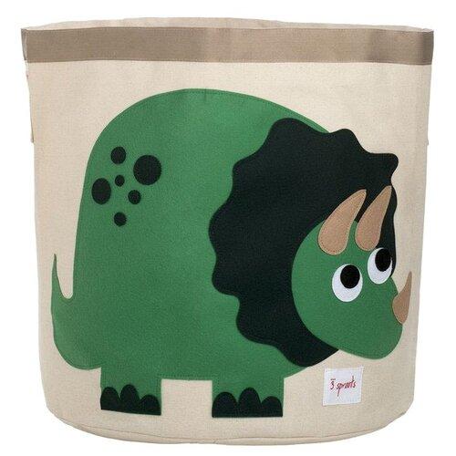 Фото - Корзина 3 Sprouts Динозавр 3 sprouts сундук для хранения игрушек 3 sprouts жёлтый носорог