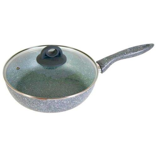Фото - Сотейник Scovo Stone pan ST-022 сковорода scovo stone pan st 004 26 см серый