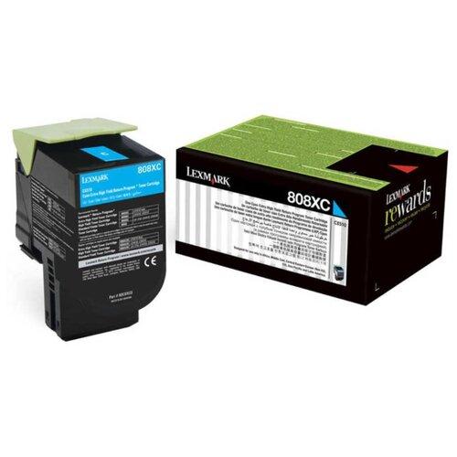 Фото - Картридж Lexmark 80C8XC0 lexmark multifunction mono laser mb2338adw