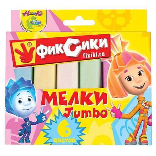 CENTRUM Мелки цветные Фиксики 6