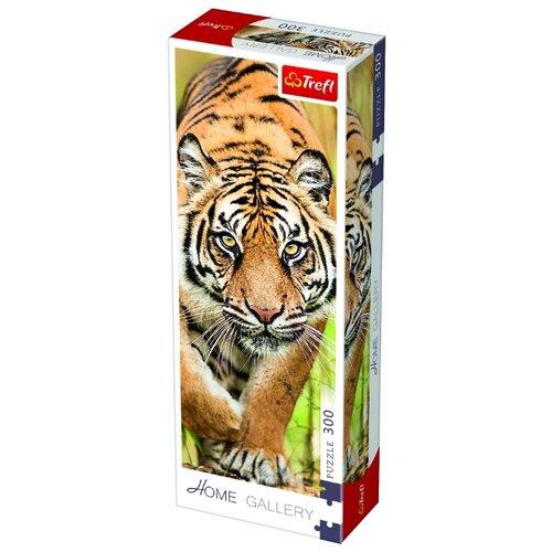 trefl пазл лас вегас ночью trefl 2000 деталей Пазл Trefl Затаившийся тигр