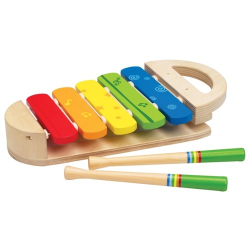 Hape ксилофон Радуга Е0302 hape деревянная каталка щенок hape