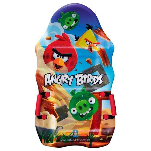 ледянка 72х41 см прямоугольная angry birds 1toy Ледянка 1 TOY Angry Birds Т56333