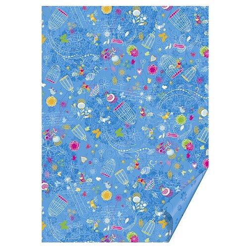 Бумага HEYDA А4 1 лист Птицы ножницы детские heyda цвет синий