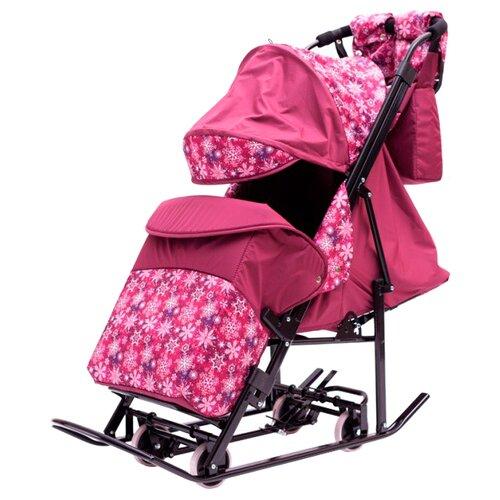 Санки-коляска Kristy Comfort санки коляска kristy comfort plus 3в вк голубой зоопарк