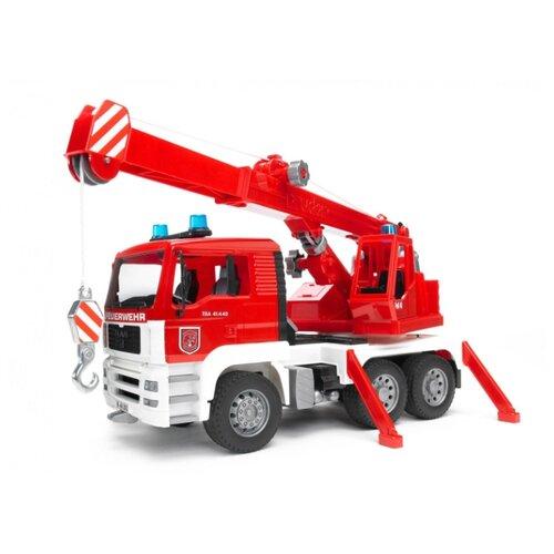 Автокран Bruder Man 02-770 1:16 машины bruder пожарная man автокран