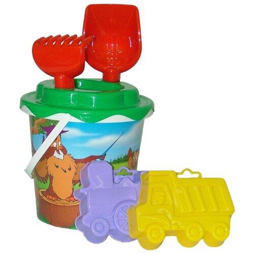 Фото - Набор Полесье №132 2814 полесье набор игрушек для песочницы 468 цвет в ассортименте