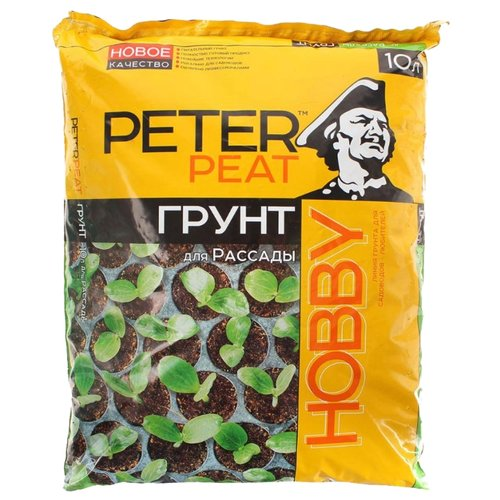 Грунт PETER PEAT Линия Hobby торф низинный peter peat 50 л