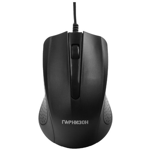 Мышь Гарнизон GM-105 Black USB мышь гарнизон gm 710g black