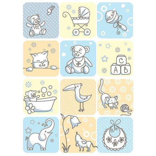Фото - Одеяло Baby Nice D110525 85х115 аксессуары для колясок baby nice конверт baby nice с меховой подкладкой розовый