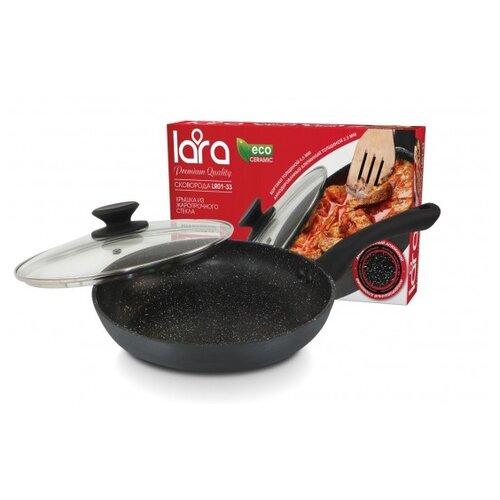 Сковорода LARA LR01-35 28 см с сковорода вок lara lr01 45 26