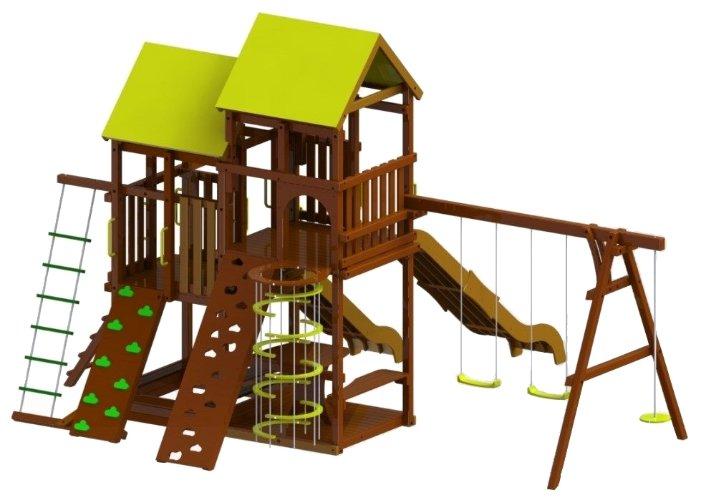 Детский городок деревянный