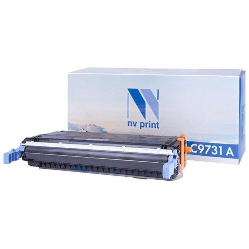 Фото - Картридж NV Print C9731AC для картридж nv print ce278a 728 для hp p1566 p1606 canon mf4410 4430 4450 4550 4570 4580 черный 2100стр
