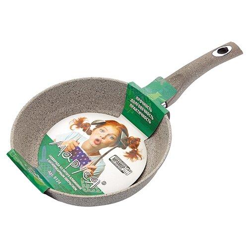 Сковорода Маруся Мрамор 9124 24 сковорода d 24 см kukmara кофейный мрамор смки240а