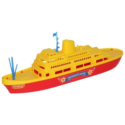 Фото - Корабль Полесье Трансатлантик полесье набор игрушек для песочницы 468 цвет в ассортименте