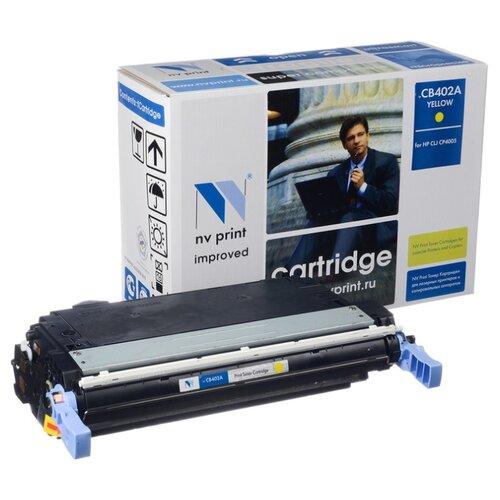Фото - Картридж NV Print CB402A для HP картридж nv print q7581a для hp
