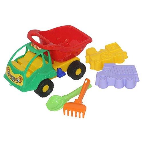 Фото - Грузовик Полесье Муравей 3119 полесье набор игрушек для песочницы 56 муравей цвет в ассортименте