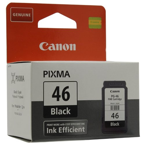 Картридж Canon PG-46 9059B001 картридж canon pg 46 для pixma e404 e464 черный 9059b001