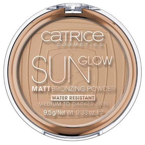 CATRICE Sun Glow Matt Bronzing бронзирующая пудра sun glow matt bronzing powder catrice лицо