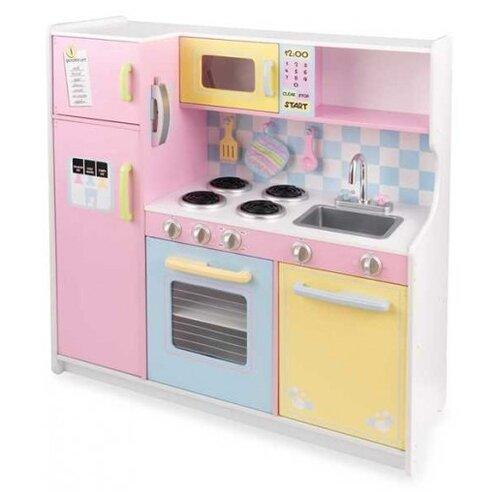 Фото - Кухня KidKraft Пастель 53181 деревянная кухня kidkraft uptown espresso 53260 ke