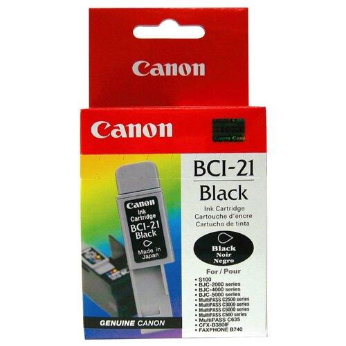 Картридж Canon BCI-21BK 0954A002 фото