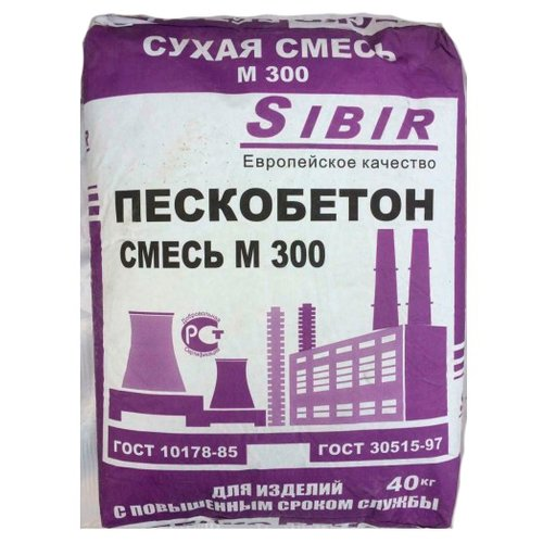Пескобетон Сибирский цемент фото