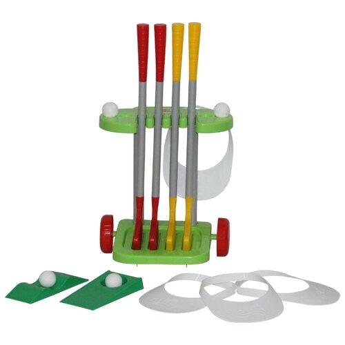 Фото - Игровой набор Полесье Гольф-2 полесье набор игрушек для песочницы 468 цвет в ассортименте