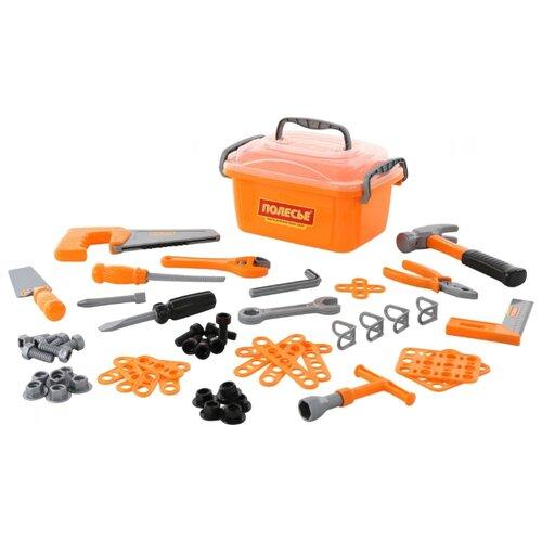 Фото - Полесье Набор инструментов №15 полесье набор игрушек для песочницы 468 цвет в ассортименте